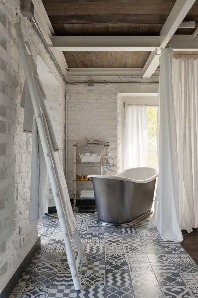 Industrie;e badkamer