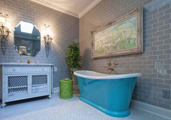 Badkamer kleur