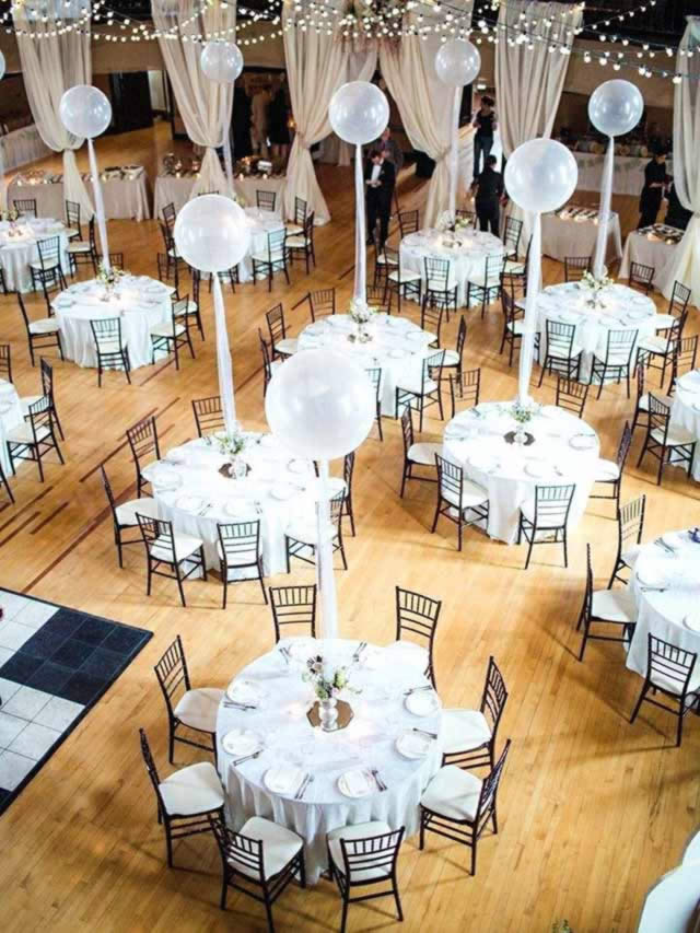 Ballon decoratie bruiloft