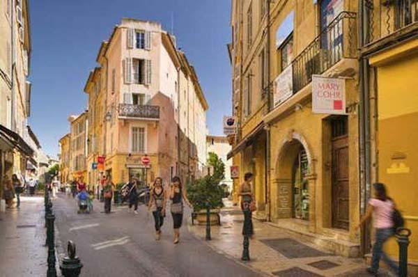 Vakantie top 10 Zuid-Frankrijk Aix-en-Provence