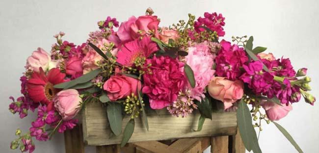 Trends in boeketten en bloemen in huis