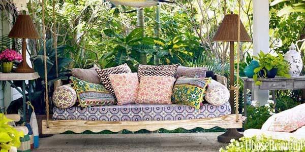 Maak een gezellige tuin met meubels
