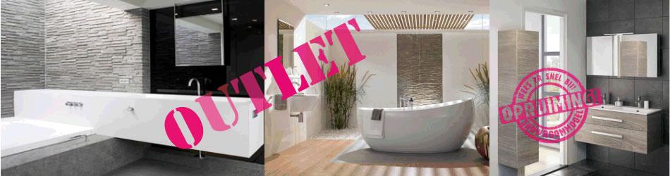 Outlet en showroom badkamers sanitair
