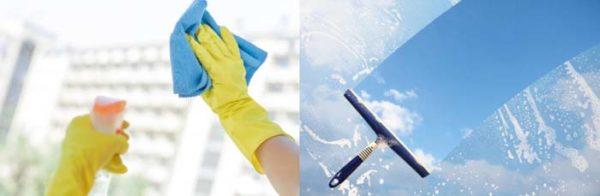 Streeploos ramen wassen