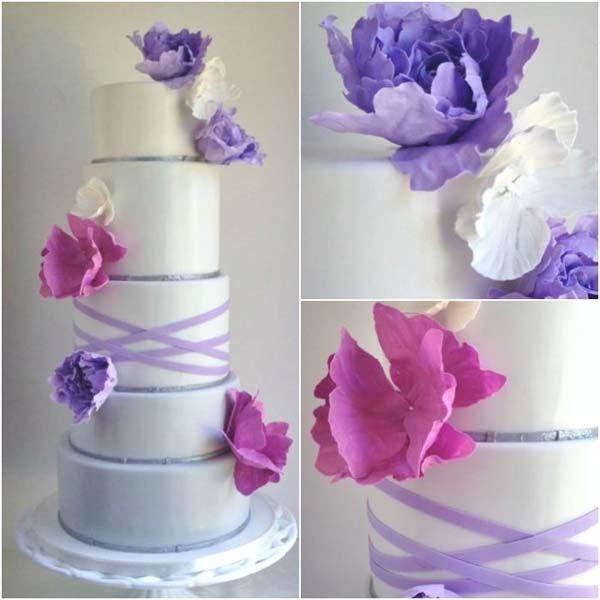 Bruidstaart suikerpapier