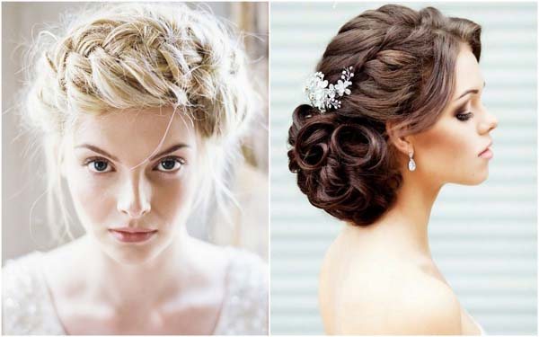 Trends bruidskapsel opgestoken